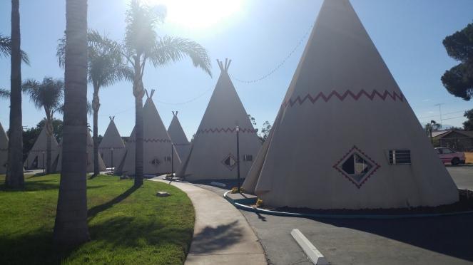 Wigwam Motel on Historic Route 66 in San Bernardino, CA